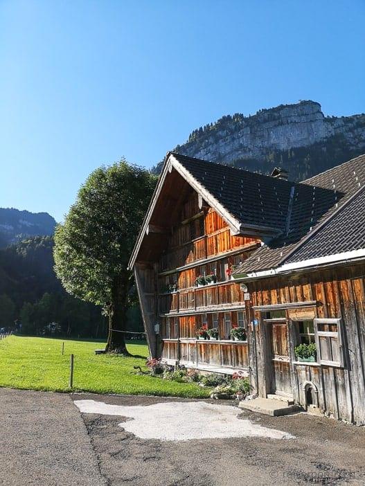 Appenzellerhaus in Brülisau