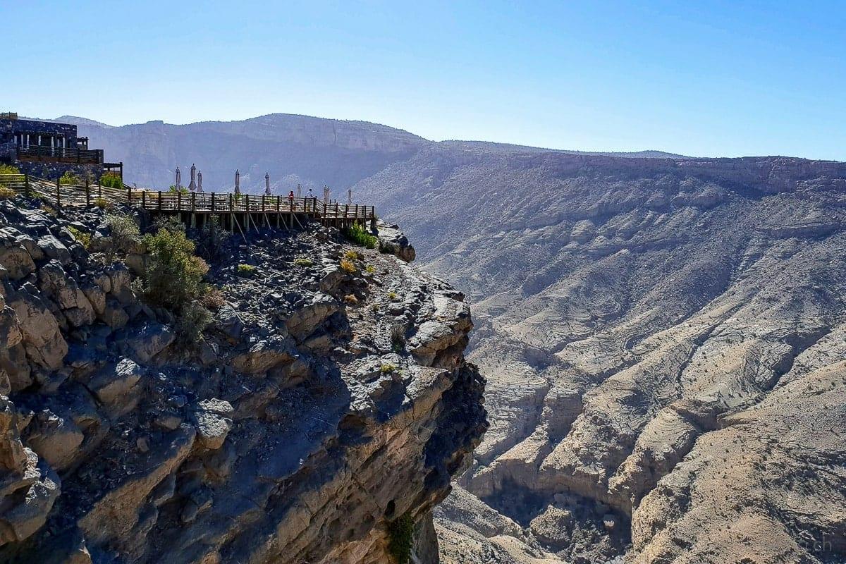 Aussichtsplattform Alila Jabal Akhdar