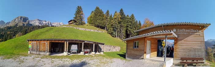 Luftseilbahn Luchsingen-Brunnenberg