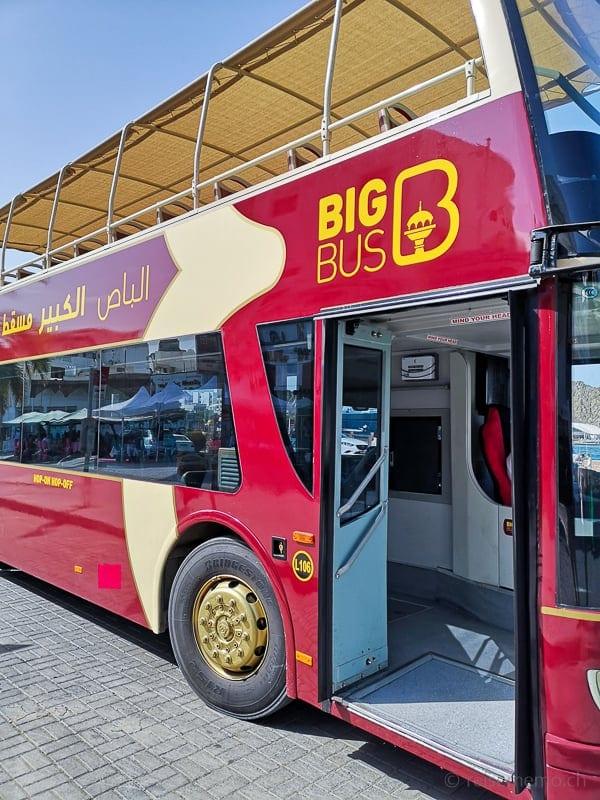 """Stadtrundfahrt mit dem """"Big Bus"""""""