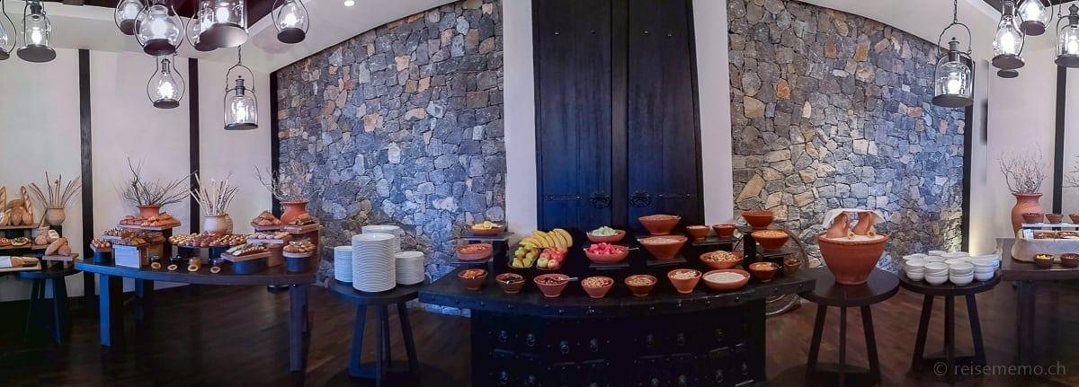 Frühstücksbuffet des Alila Jabal Akhdar