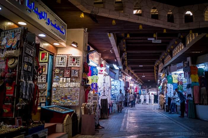 Gasse im Mutrah Souk von Muscat