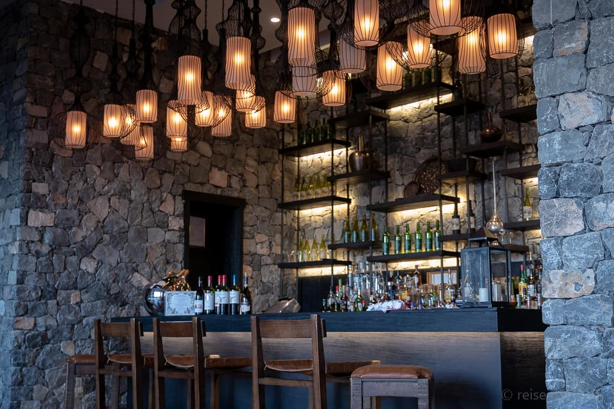 Hotelbar des Alila Jabal Akhdar Designhotels