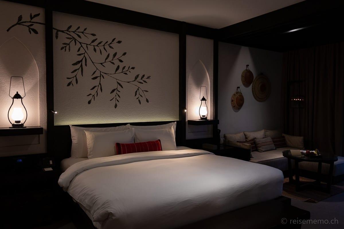 Elegantes Hotelzimmer im Alila Jabal Akhdar