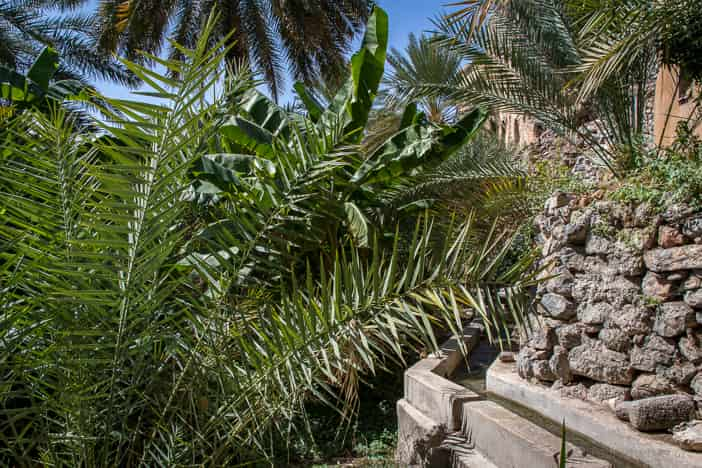 Bewässerungskanal in Misfat al Abriyyin