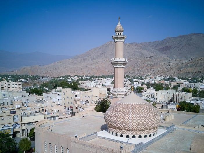 Moschee und Minarett von Nizwa