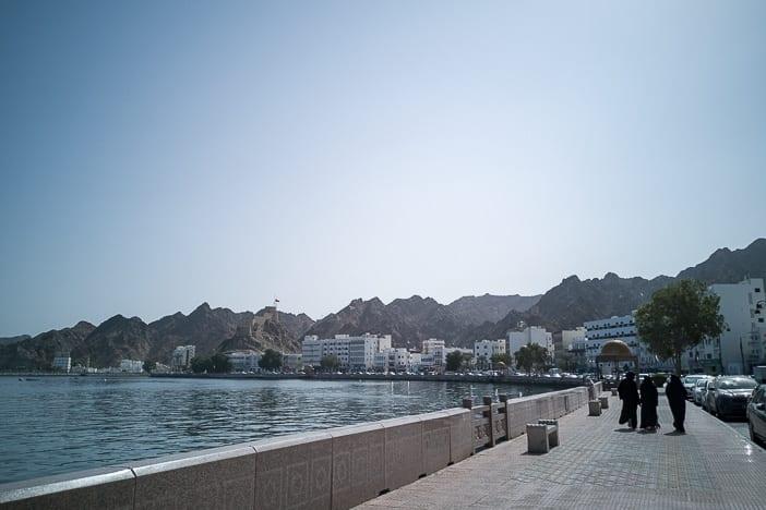 Mutrah Corniche von Muscat