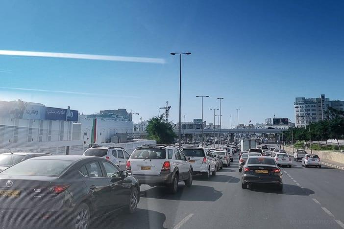 Verkehr in Muscat