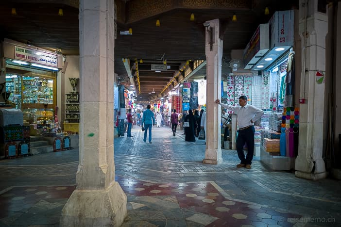 Lane in Mutrah Souk in Muscat