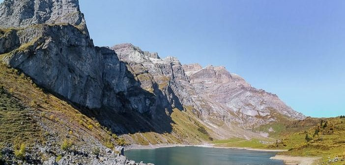 Oberblegisee-Panorama