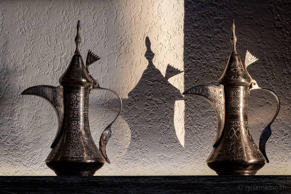 Omani Style Kaffeekannen Alila Jabal Akhdar