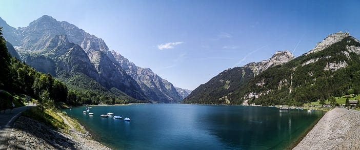Klöntalersee im Glarnerland