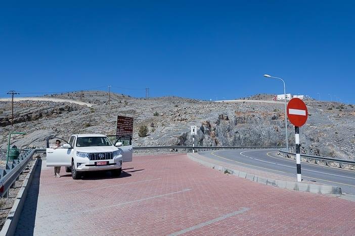 Toyota Prado im Al Jabal Akhdar Gebirge