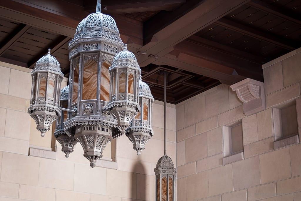 Waschraum der Sultan Qaboos Moschee Muscat