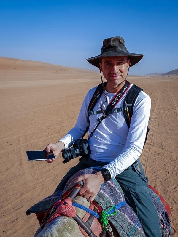 Kamelausritt Desert Nights Camp