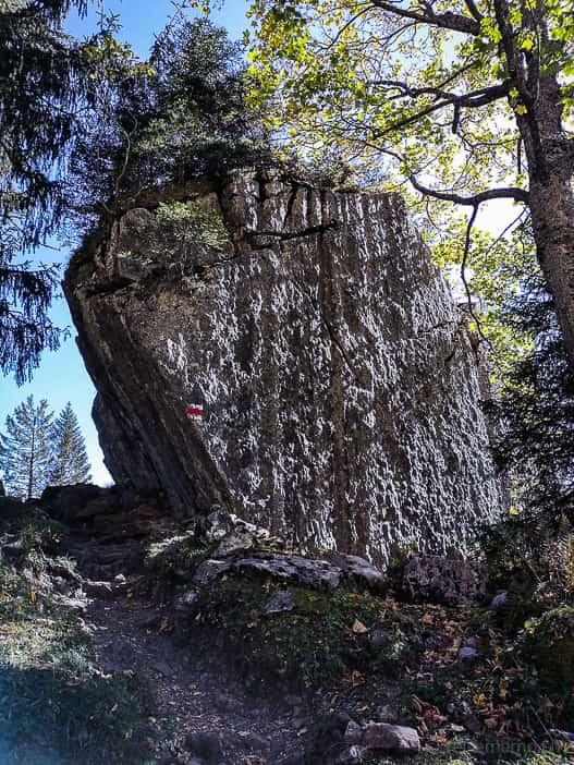 Wanderweg zum Oberblegisee
