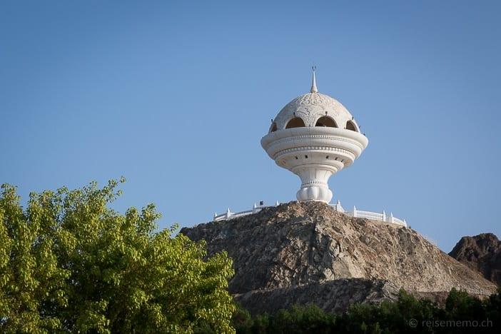 Weihrauch-Aussichtspunkt bei Mutrah in Muscat