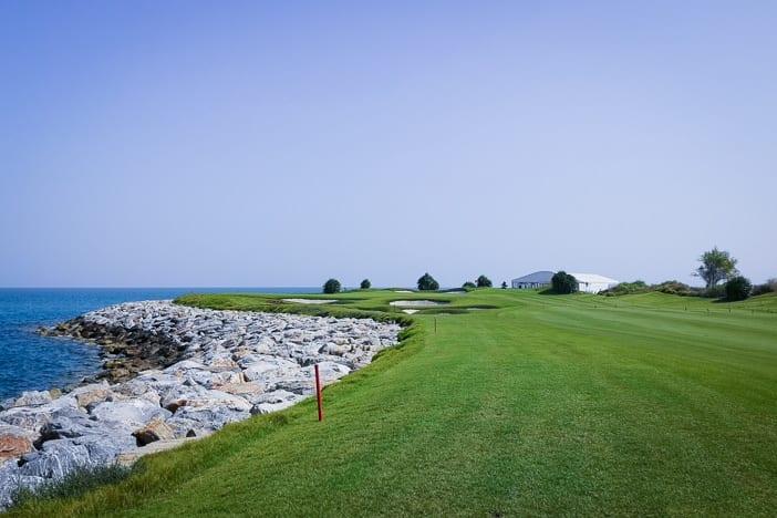 Al Mouj Links Golfplatz