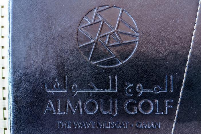 Speisekarte des Al Mouj Links Golfplatzes