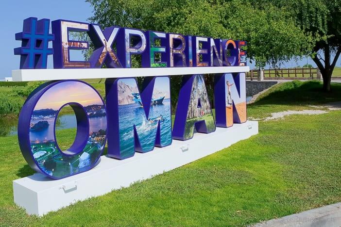 #ExperienceOman Hashtag