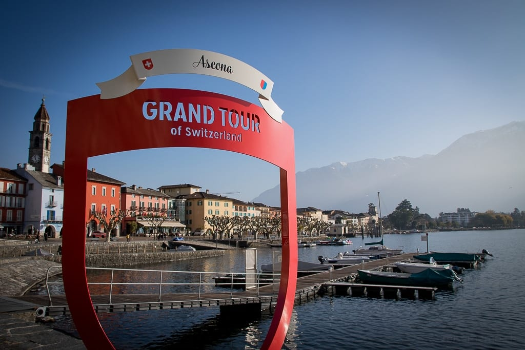 Signet von Grand Tour of Switzerland in Ascona