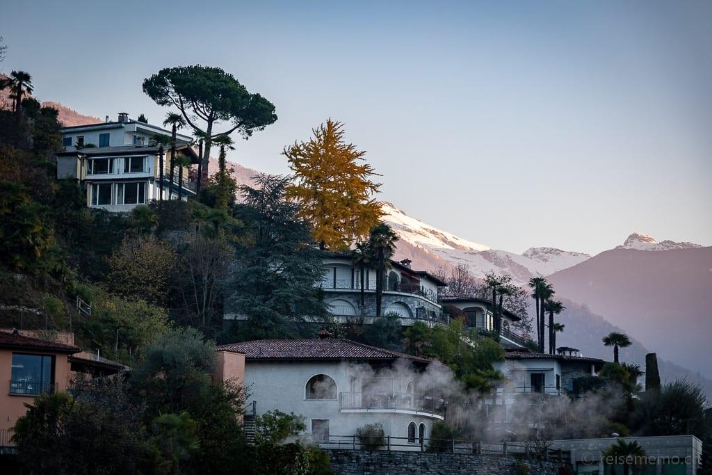 Villen oberhalb von Locarno