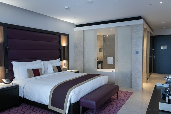 Hotelzimmer des Kempinski Al Mouj Muscat