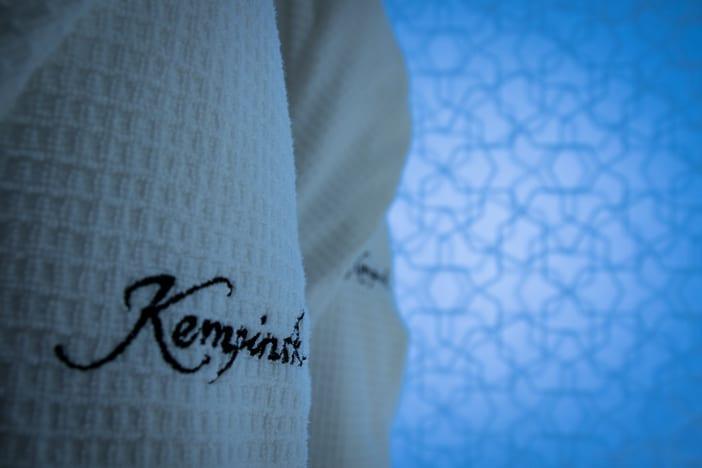 Bademantel im Kempinski Muscat Hotel