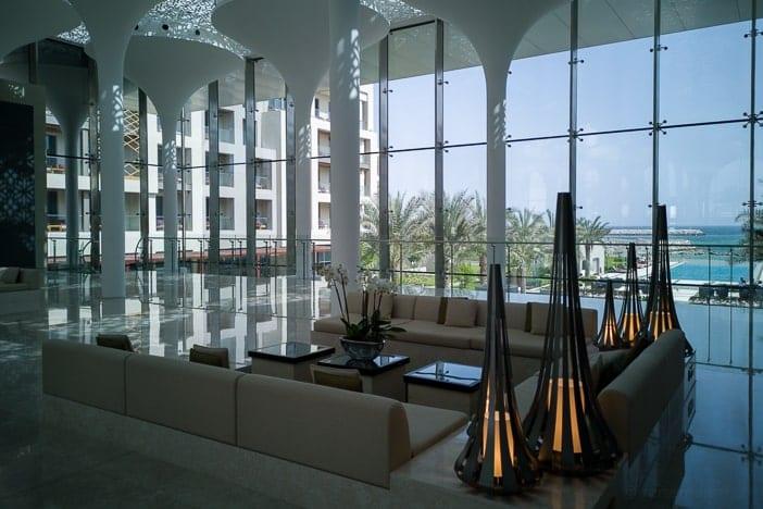 Kempinski Muscat Hotellobby