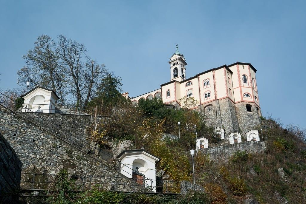 Kapellen von Madonna del Sasso