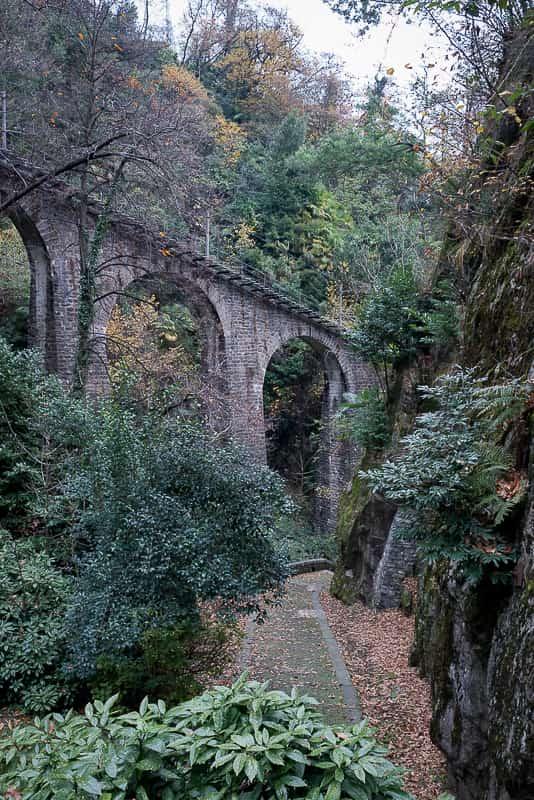 Viadukt der Drahtseilbahn