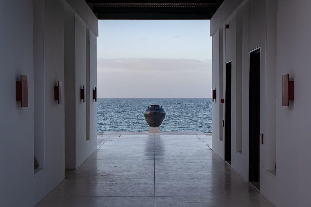 Ausblick aufs Meer beim Chedi Pool