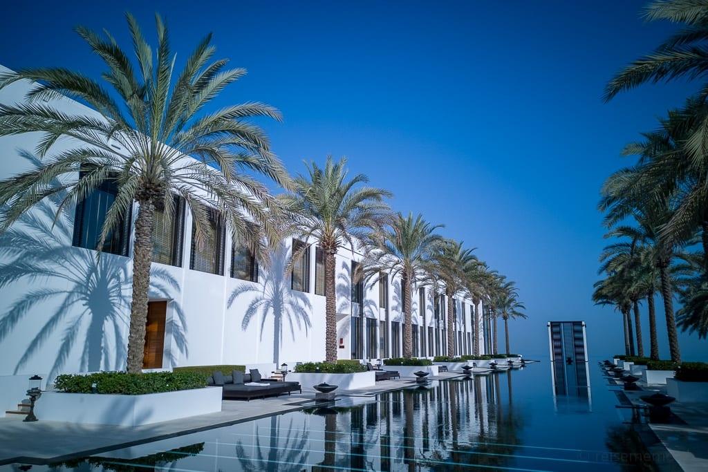 Chedi Muscat mit dem längsten Hotelpool im Mittleren Osten