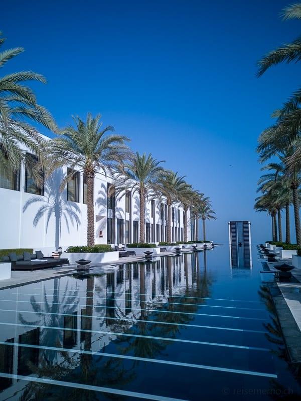 Der längste Pool im Mittleren Osten - Chedi Muscat Spa & Pool