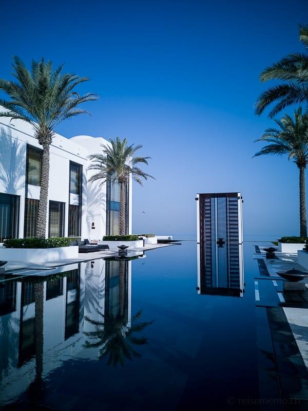 Der längste Pool im Mittleren Osten - Chedi Muscat