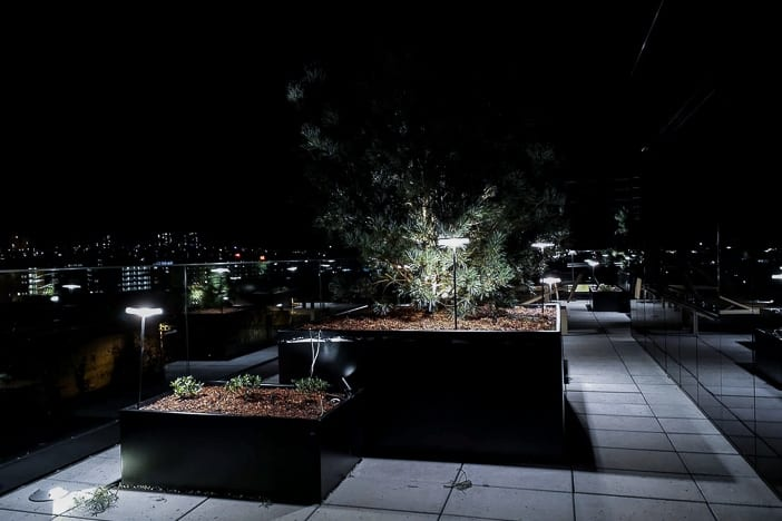 Finnische Aussensauna auf der Dachterrasse des a-ja City-Resorts in Zürich