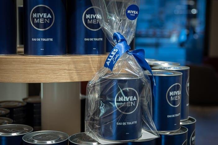 Nivea Men Geschenkpackung im Nivea Haus Zürich-Altstetten