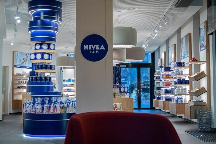 Nivea Haus als Nivea Flagship-Store