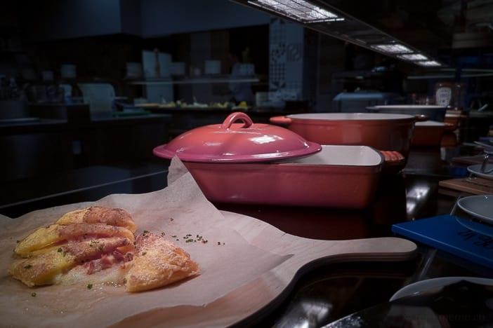 Tomatenomelett vom Frühstücksbuffet im a-ja Resort Zürich