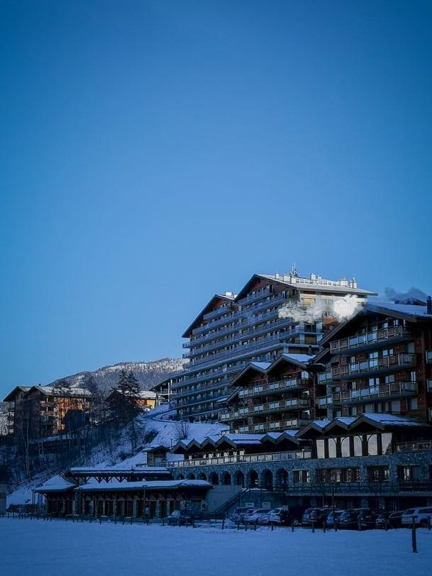 Hotel Nendaz 4 Vallées & Spa im Winter