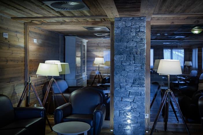 Zigarrenlounge im Hotel Nendaz 4 Vallées & Spa