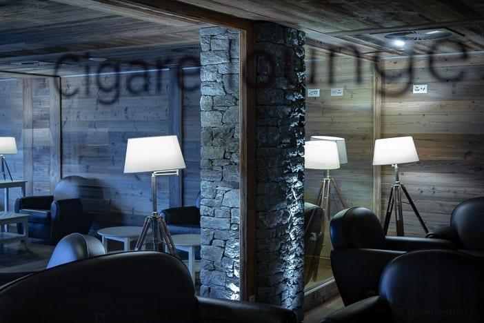 Cigare Lounge im Hotel Nendaz 4 Vallées & Spa