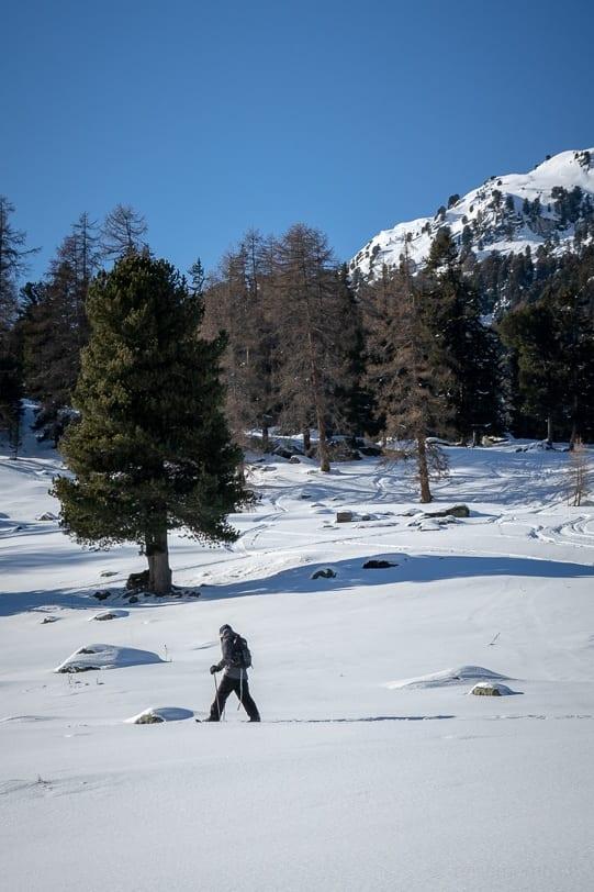 Winterwandern im 4 Vallées