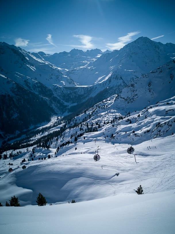 Walliser Skiregion 4 Vallées mit Siviez und Cleuson Staumauer