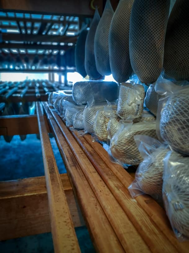 Vakuumiertes Bündnerfleisch für den Verkauf