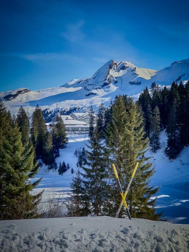 Winterwanderung Hoch-Ybrig Fuederegg