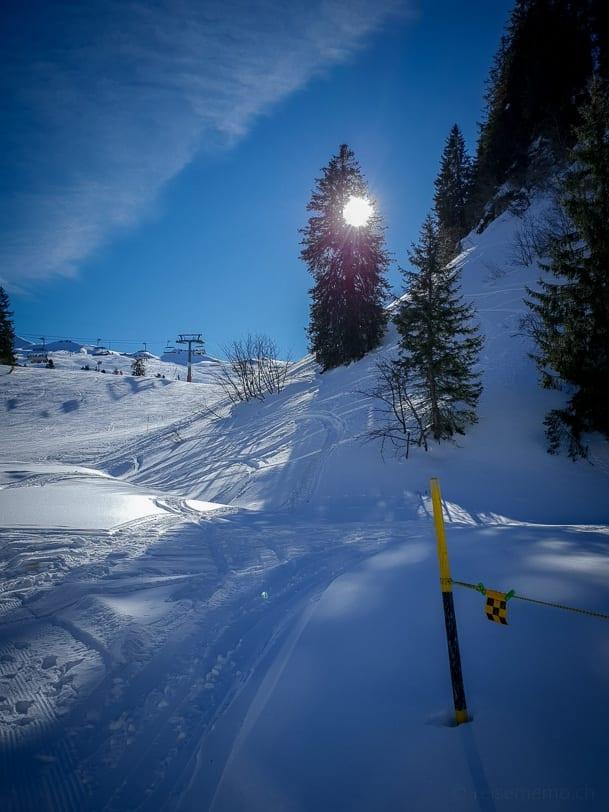 Höheweg Hoch-Ybrig Fuederegg