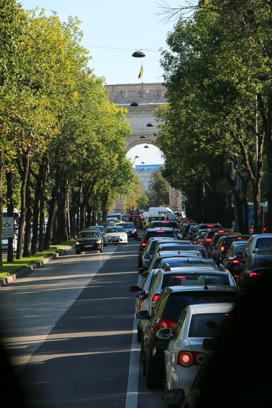 Städtereise Bukarest Boulevard