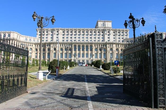 Der Parlamentspalast von Bukarest