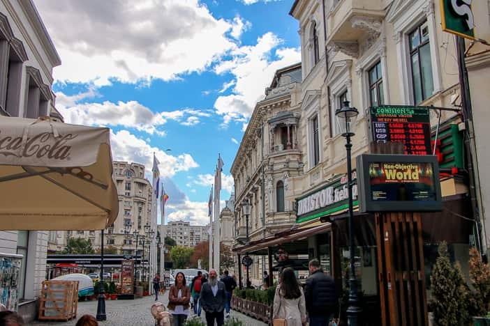 Städtereise Bukarest